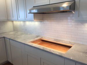 Bristol RI Kitchen Bathroom Tiling Contractor Guild Tile LLC - Backsplash installation contractors