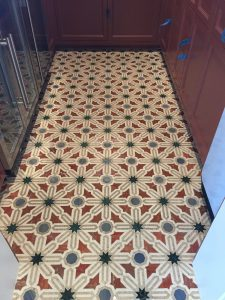 Floor Tiling Contractor with fine mosaic