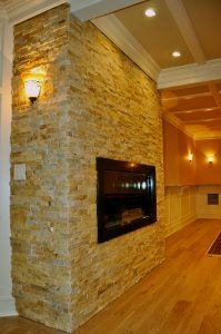 Stone Tiling Contractor for Fireplace
