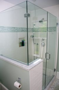 Tiling Contractor for shower in bathroom